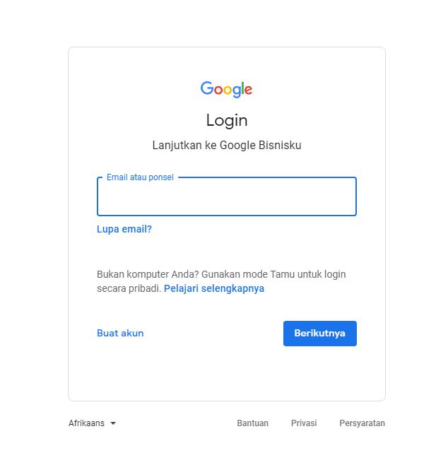 Cara Daftar Google Bisnisku Terbaru 2020 Irvama
